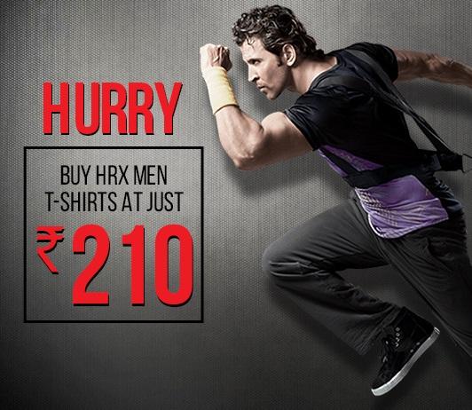 HRX Men T-Shirts Offer