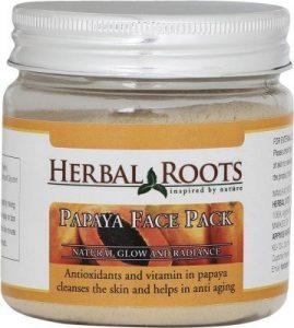 Herbal Roots Papaya For Skin Whitening