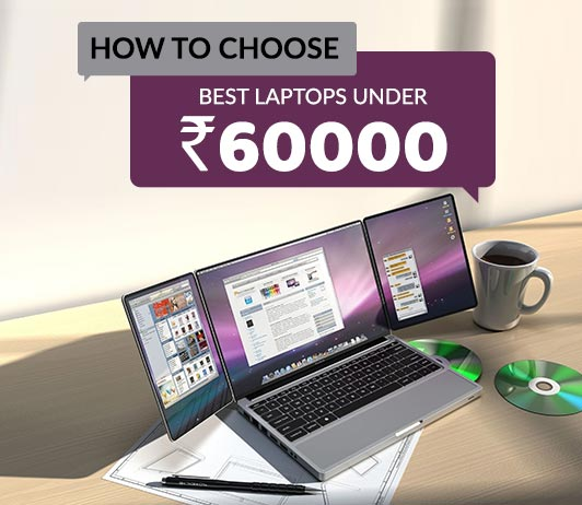 Top 5 Laptops Under 60000