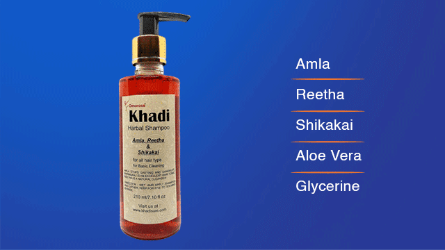 Khadi Amla Reetha & Shikakai Shampoo