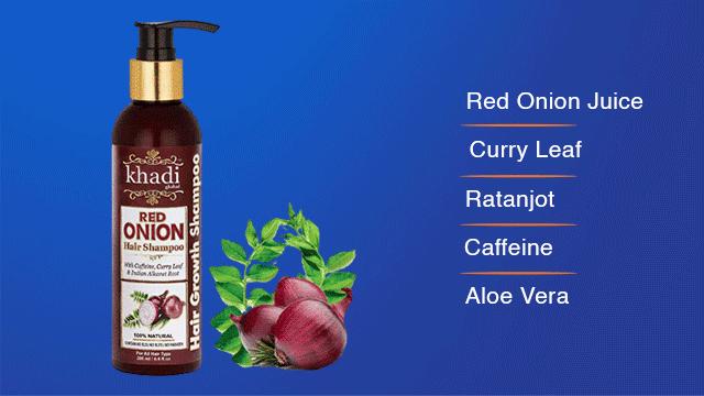 Khadi Onion Shampoo
