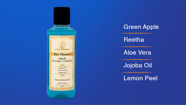 Khadi Green Apple Shampoo