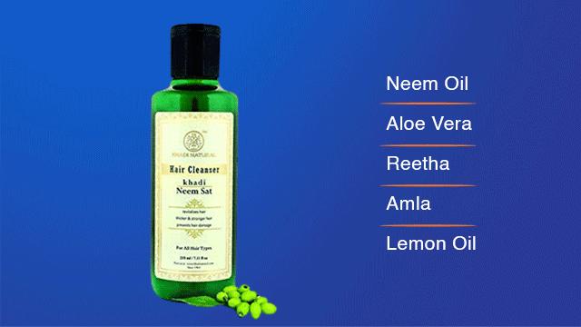 Khadi Neem Sat Shampoo