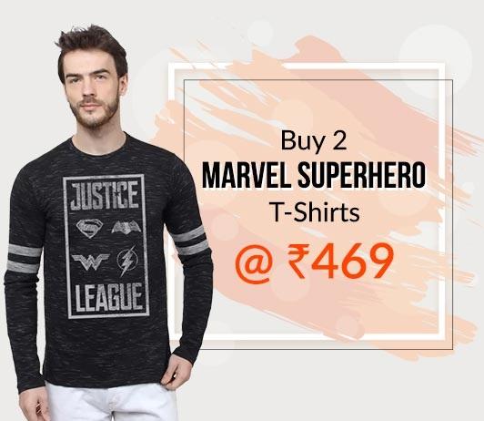 Marvel T-Shirts Offer