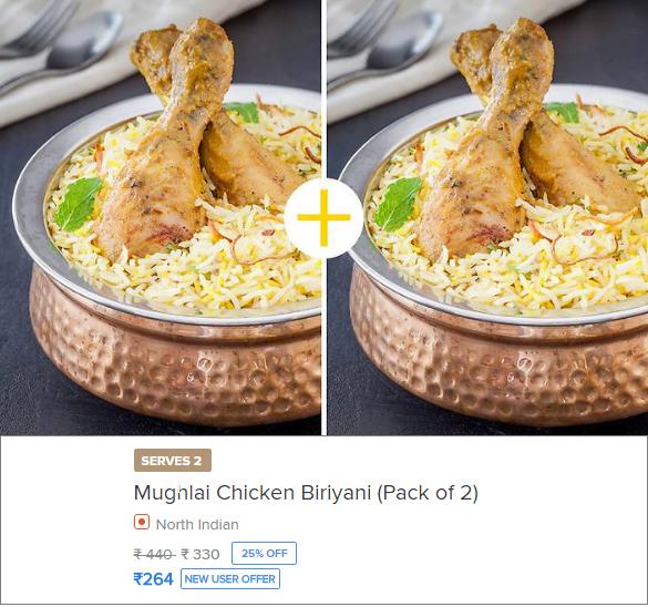 Mughlai Chicken Biriyani Offer