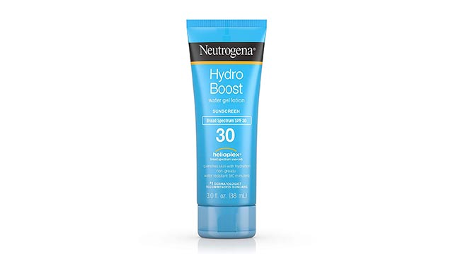 Neutrogena Hydro Boost Water Gel Non Greasy Moisturizing Sunscreen Lotion