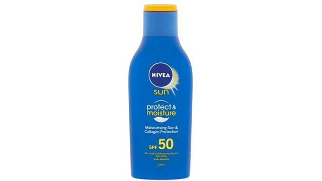 Nivea Sun Protect & Moisture Lotion SPF 50 With Water Resistant SPF 50 PA
