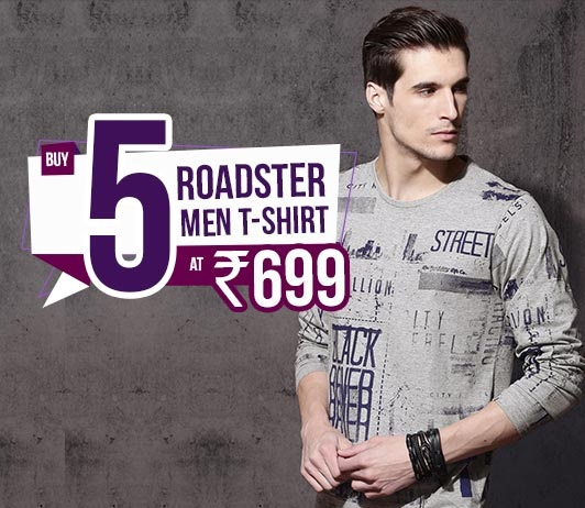 Roadster Men T-Shirts