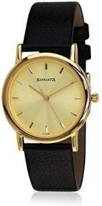 Sonata NF7987YL01J Men's Watch