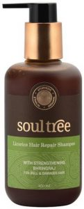 SoulTree Licorice Hair Repair Shampoo With Strengthening Bhringraj