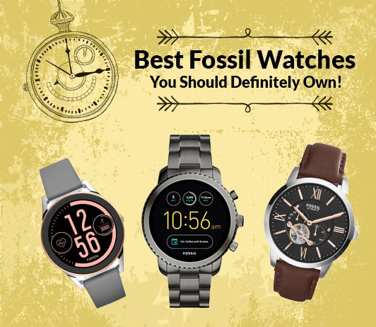 Top 10 Fossil Watches