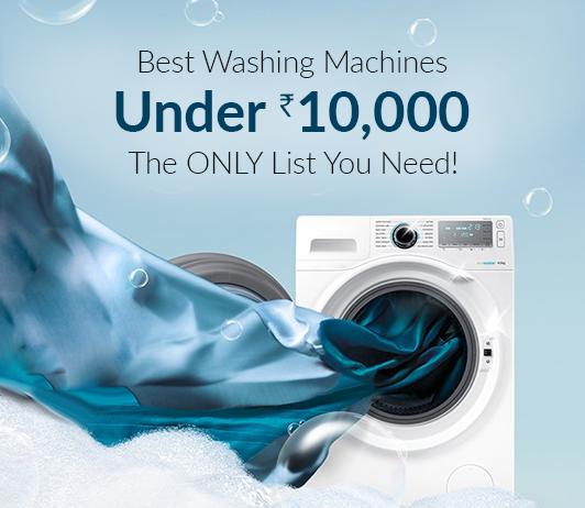 top 5 washing machines below 10000
