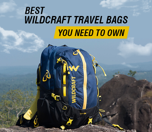 Wildcraft Travel Bags You Need to Own