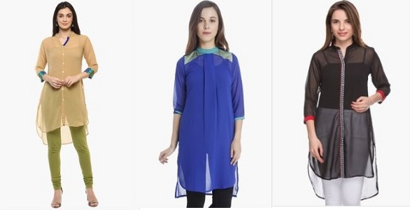 Women Kurtas Shoppers Stop