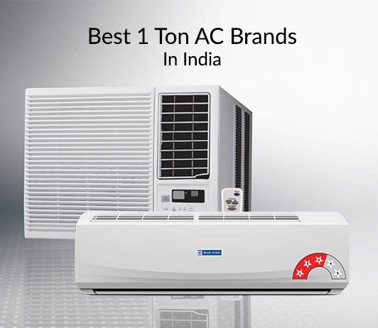 best 1 ton AC brands in India