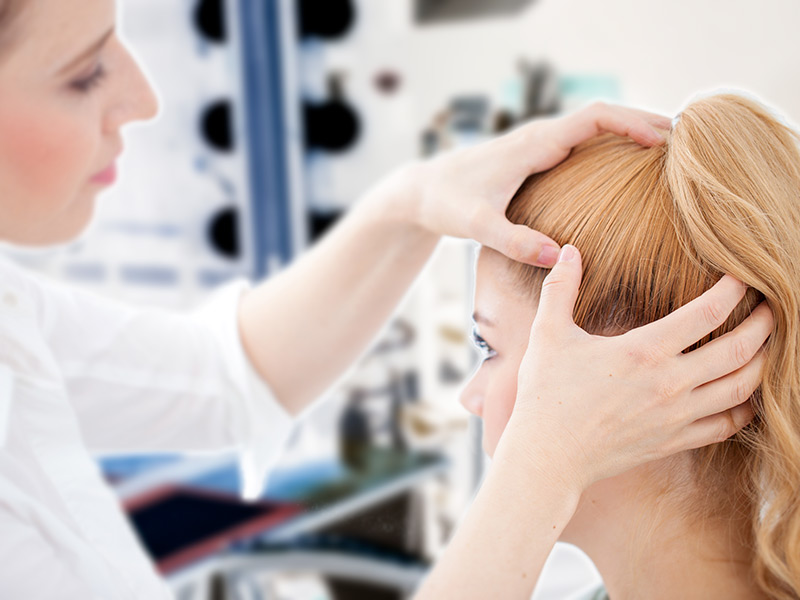 right diagnosis to reduce hair fall