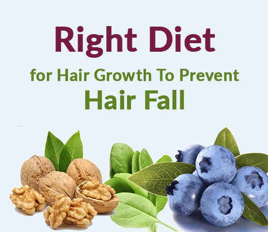 Know the Right Diet for Hair Growth to Prevent Hair Fall
