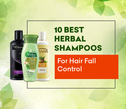 10 Best Herbal Shampoos For Hair Fall Control In India Best Of 2020
