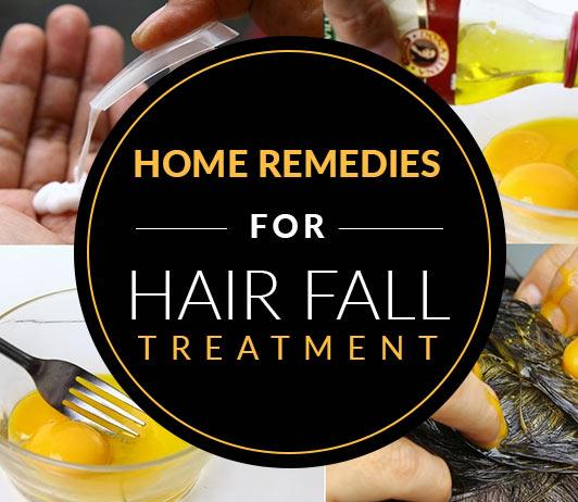Home Remedies For Hair Fall Treatment