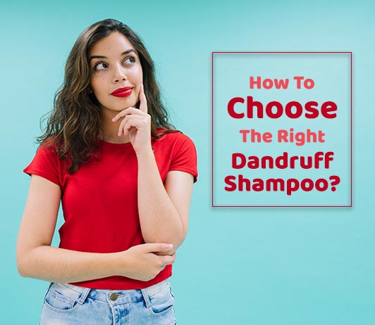 How to choose the best dandruff shampoo