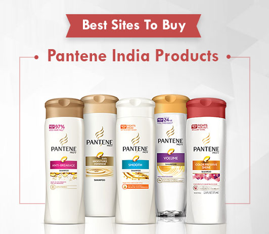 5 Best Sites To Buy Pantene Shampoos and Products