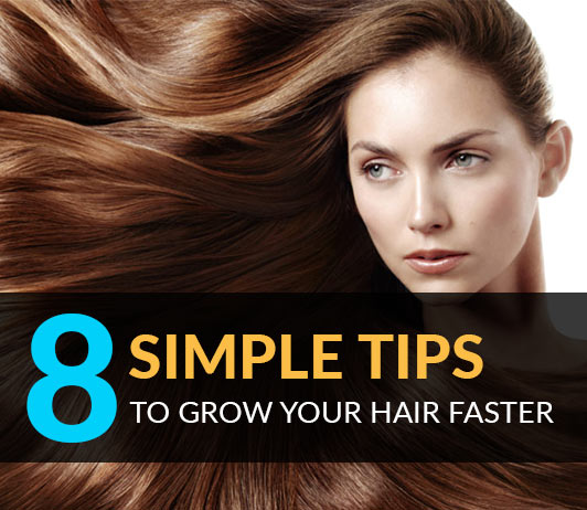 Simple Tips To Grow Hair Faster