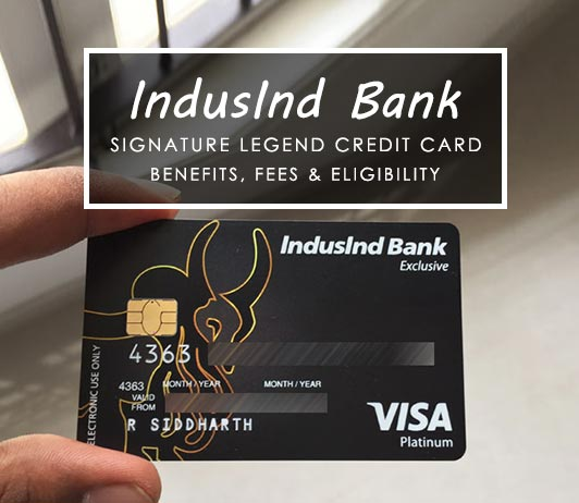 Indusind Bank Signature Legend Credit Card