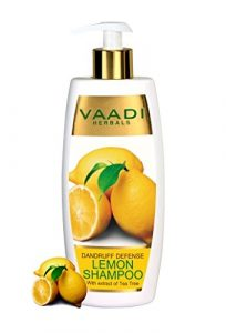 Vaadi Herbals Dandruff Defense With Extract of Tea Tree Lemon Shampoo Review