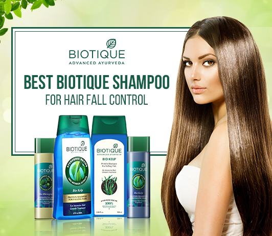 Biotique Shampoo For Hair Fall Control