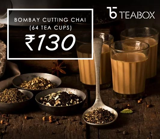 Bombay Cutting Chai Teabox Offer