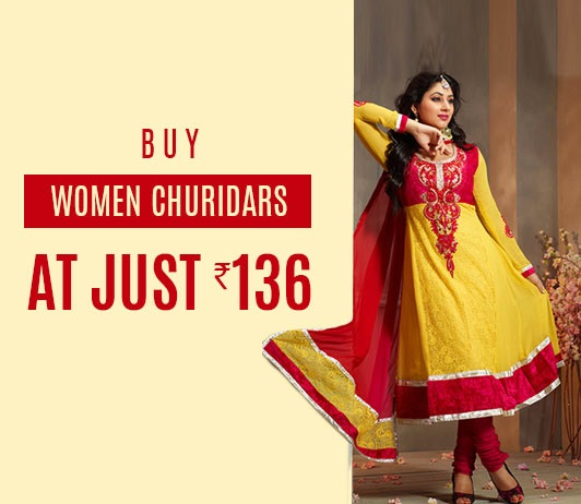 Flipkart Women Churidars