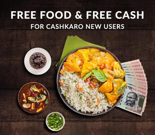 Freshmenu CashKaro Free Food
