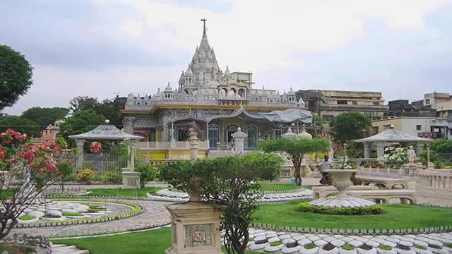 Jain-Glass-Temple