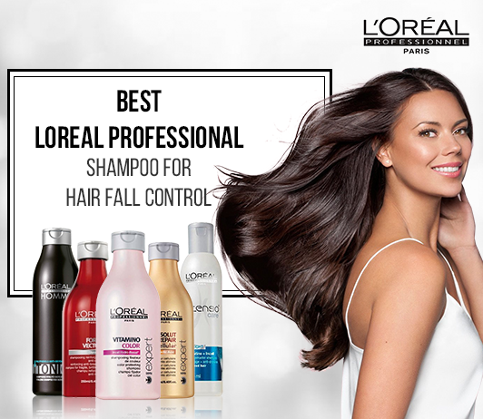 Loreal Professional Shampoo for hairfall review