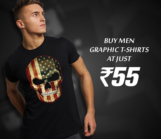 Men Graphic T Shirts MyVishal