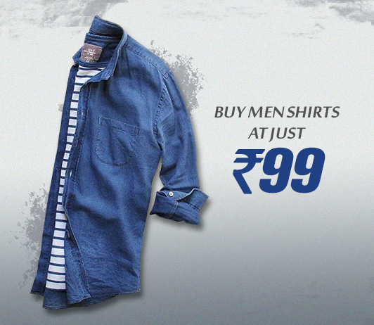 MyVishal Men Shirts Offers