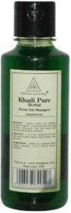 Khadi Herbal Neem Sat Shampoo Review