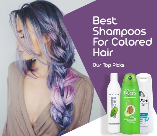 Best Shampoo For Colored Hair Review and Ratings