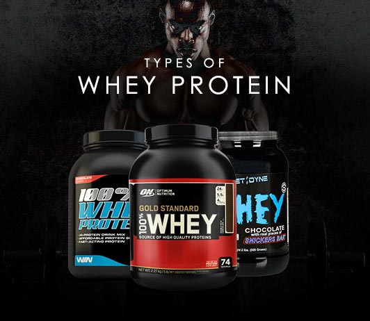 Types Of Whey Protein: Isolate | Concentrate | Hydrolysate