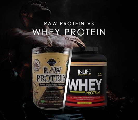 Raw Protein Vs Whey Protein: Know The Differences