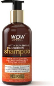 WOW SKIN SCIENCE Satin Sunshade Sunscreen Shampoo Review