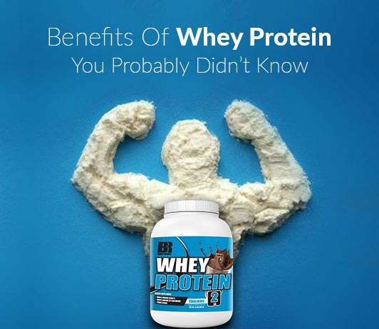 7 Benefits Of Whey Protein You Probably Didn't Know