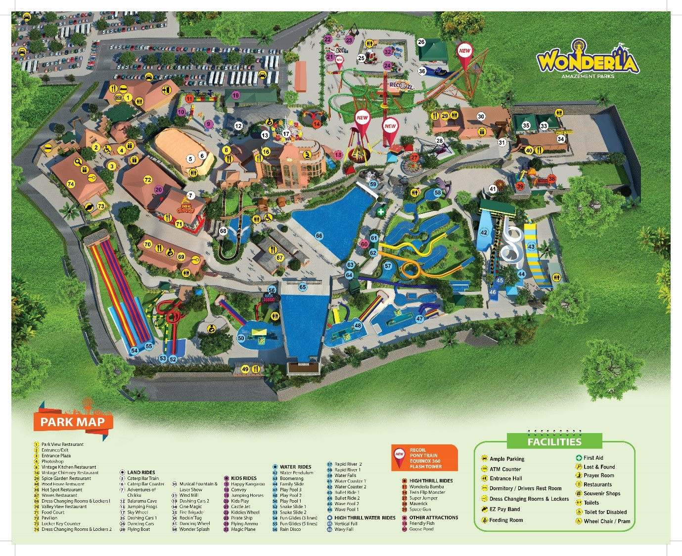 map kochi