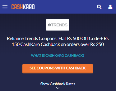 reliance trends_store