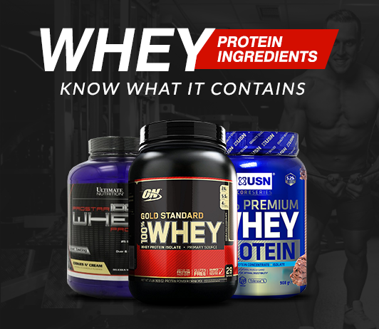 Whey Protein Ingredients: Know What It Contains