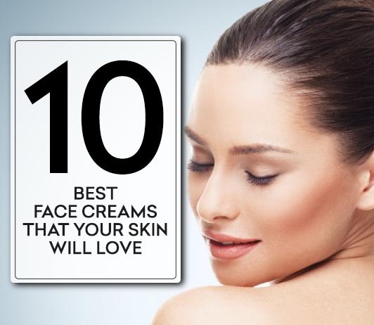 Top 10 Best Face Creams in India