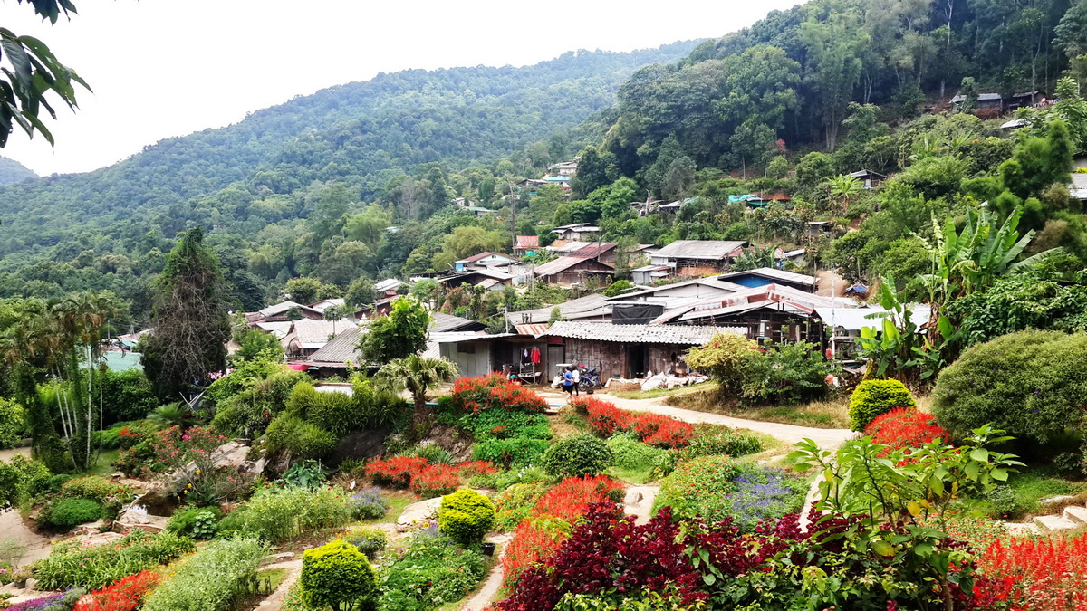 Doi Pui Tribal Village and National Park