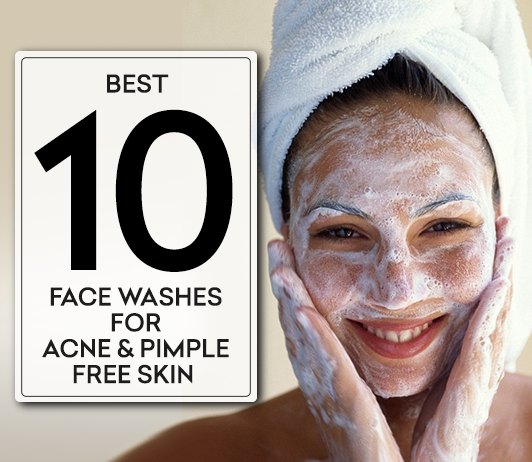 Top 10 Best Face Wash for Acne and Pimples in India