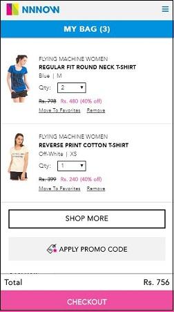 Flying Machine T-Shirts for Women