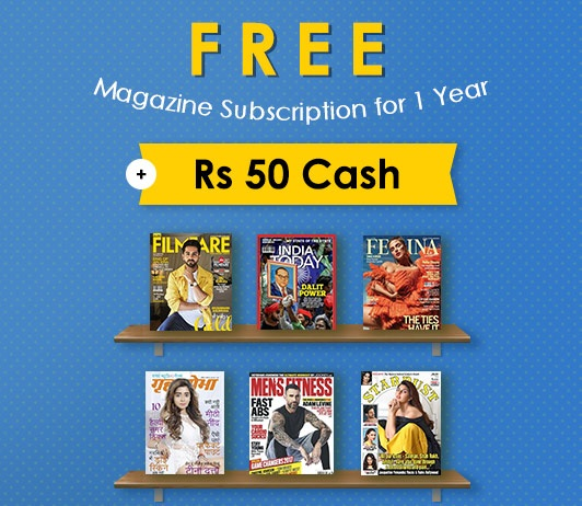 Magzter Free Magazine Free Cash Offer